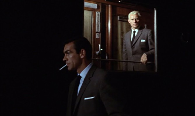 Still from From Russia with Love, 1963, dir. Terence Young.